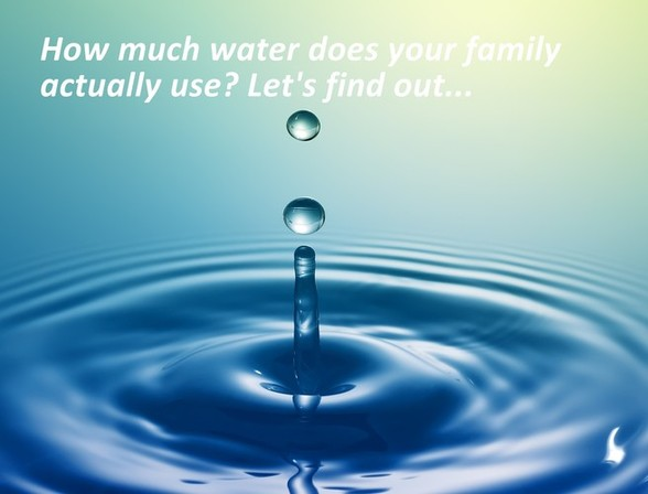 Would You Like To Know How Much Water You Actually Use
