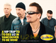 *WIN* A VIP Trip To See U2 In Vancouver